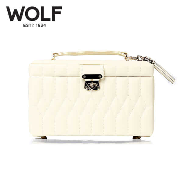 [울프 WOLF] 329777 (Caroline Medium Box Cream) / 보석함 Jewel Box