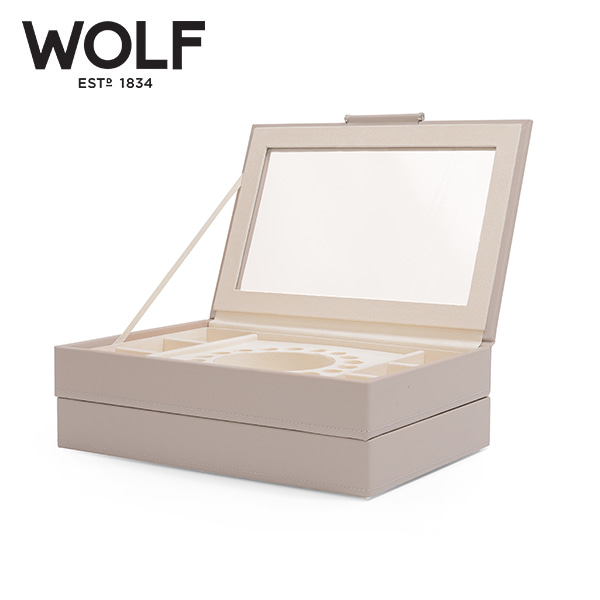 [울프 WOLF] 392121 / 보석함 Sophia Stackable Trays Mink 타임메카