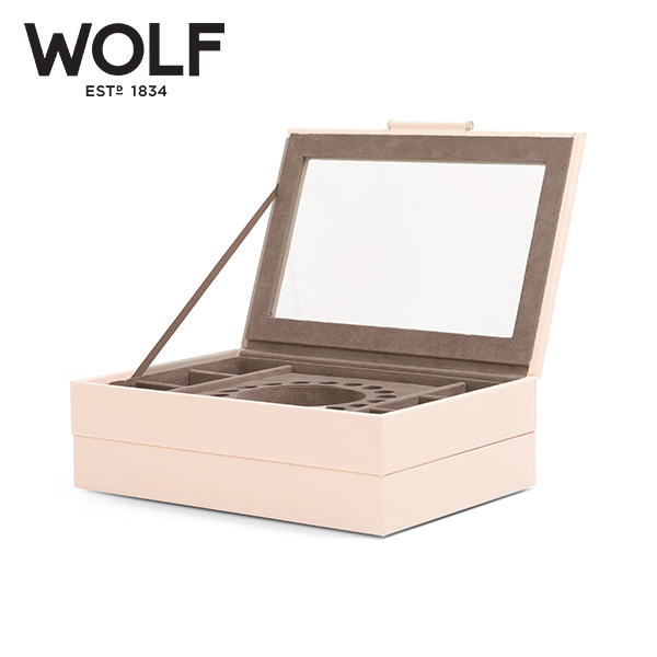 [울프 WOLF] 392153 / 보석함 Sophia Stackable Trays Ivory 타임메카