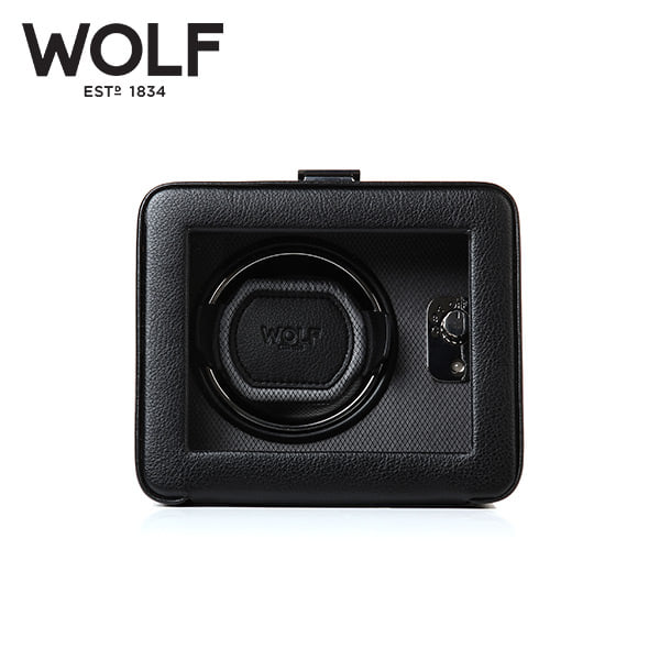 [울프 WOLF] 4525029 (Windsor Single Winder w/ Cover) / 워치와인더 Watch Winder