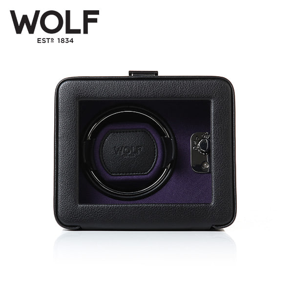 [울프 WOLF] 452503 (Windsor Single Winder w/ Cover) / 워치와인더 Watch Winder