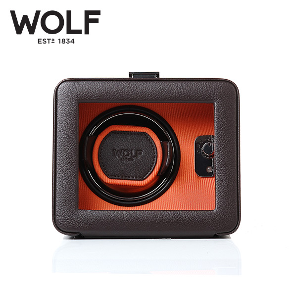 [울프 WOLF] 452506 (Windsor Single Winder w/ Cover) / 워치와인더 Watch Winder