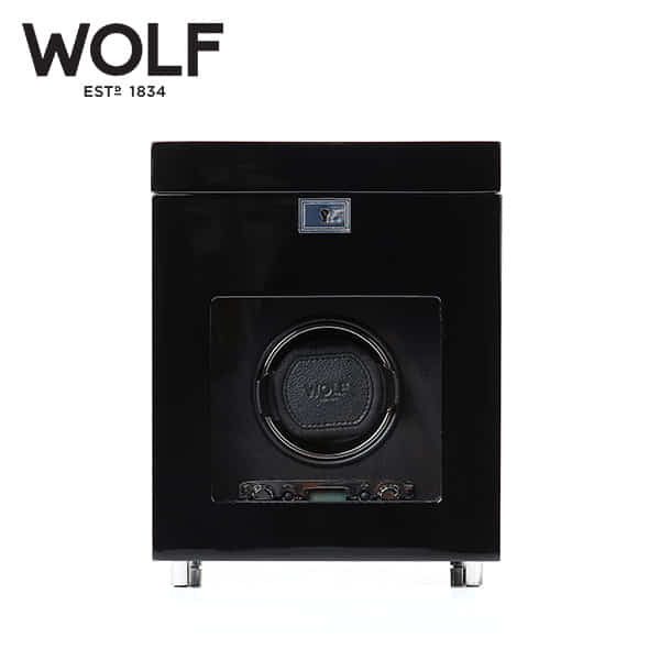 [울프 WOLF] 454570 (Savoy Single Winder w/ Stg Blk) / 워치와인더 Watch Winder