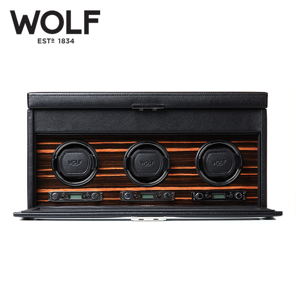 [울프 WOLF] 457356 (Roadster Triple Winder w/ Stg) / 워치와인더 Watch Winder