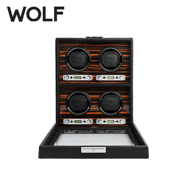 [울프 WOLF] 459156 (Roadster 4pc Winder) / 워치와인더 Watch Winder