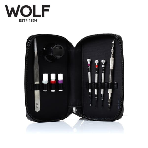 [울프 WOLF] 459902 / 시계공구 Watch Maintenance Tool Kit 타임메카
