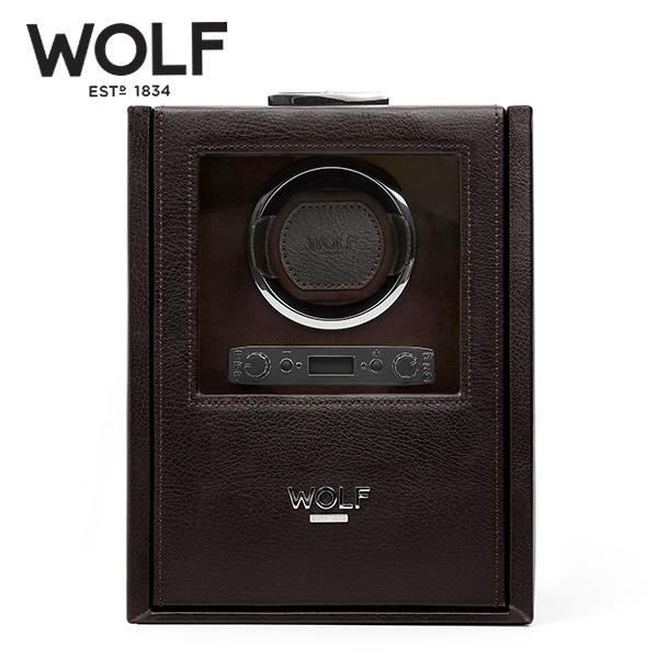 [울프 WOLF] 460606 (Blake Single Winder Brown) / 워치와인더 Watch Winder