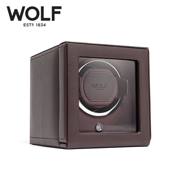 [울프 WOLF] 461106 (Cub Winder w Cover Brow) / 워치와인더 Watch Winder