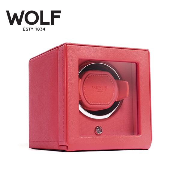[울프 WOLF] 461142 (Cub Winder w Cover Coral) / 워치와인더 Watch Winder