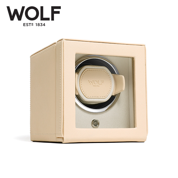 [울프 WOLF] 461153 (Cub Winder w Cover Cream) / 워치와인더 Watch Winder