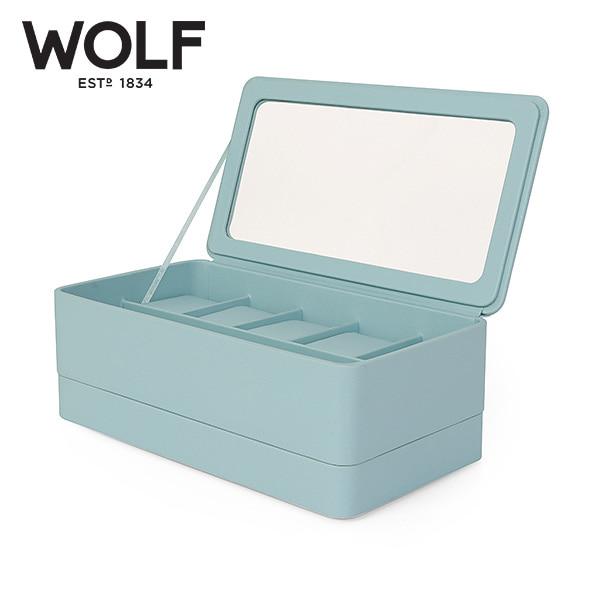 [울프 WOLF] 463124 / 시계보관함 Smart Storage 6pc Watch Box Aqua 타임메카