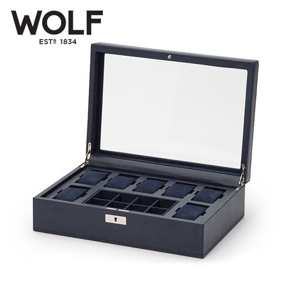 [울프 WOLF] 465217 / 시계보관함 7구 Howard 7pc Watch Box with tray 타임메카
