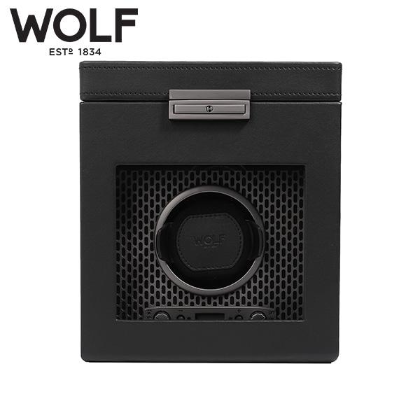 [울프 WOLF] 469203 / 워치와인더 1구 Axis Single Winder w Stg Powder Coat 타임메카