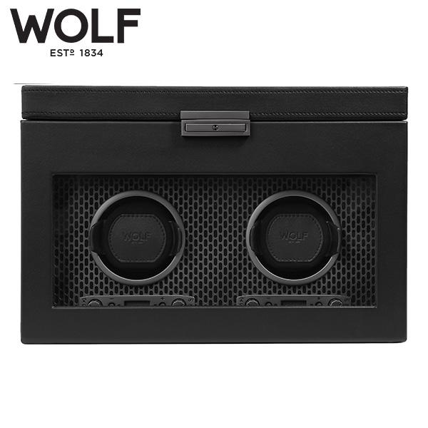 [울프 WOLF] 469303 (AXIS DOUBLE WINDER W STG POWDER COAT) 워치와인더 Watch Winder