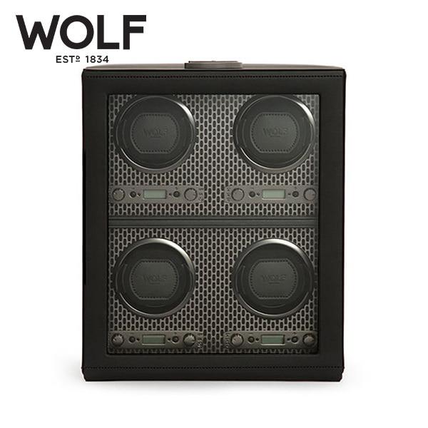[울프 WOLF] 469503 / 워치와인더 4구 Axis 4pc winder 타임메카
