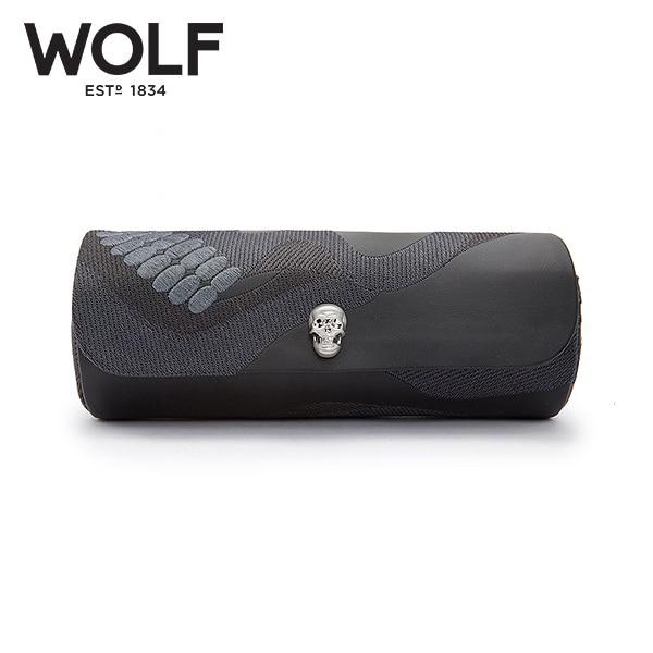 [울프 WOLF] 493402 / 시계보관함 3구 Memento Mori Blk 3pc Triple Watch Roll '해외오더 제품' 타임메카