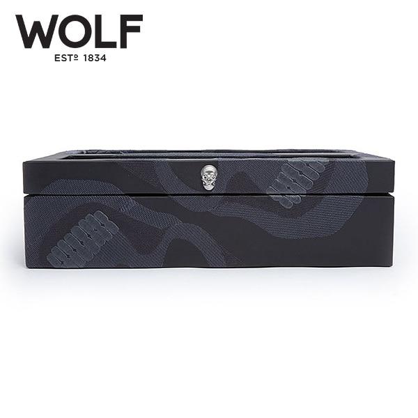 [울프 WOLF] 493502 / 시계보관함 10구 Memento Mori Blk 10pc Watch Box '해외오더 제품' 타임메카