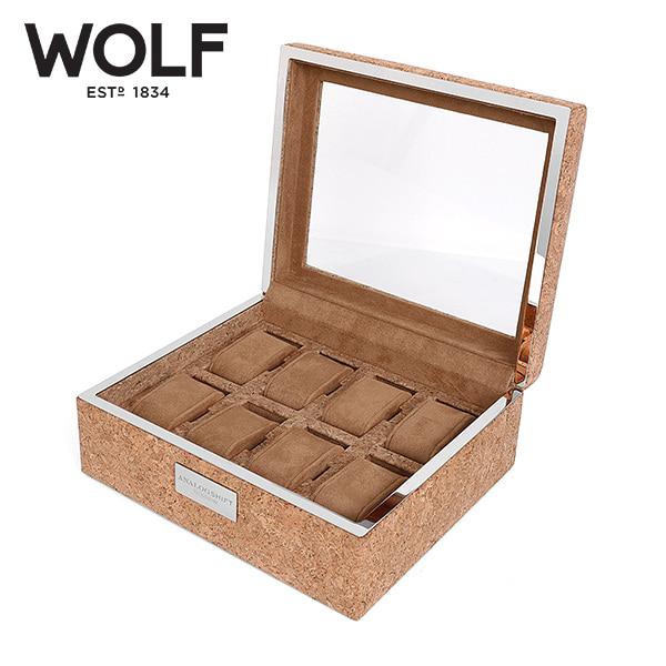 [울프 WOLF] 709261 / 시계보관함 8구 Analog Shift 8pc Watch Box Wood 타임메카