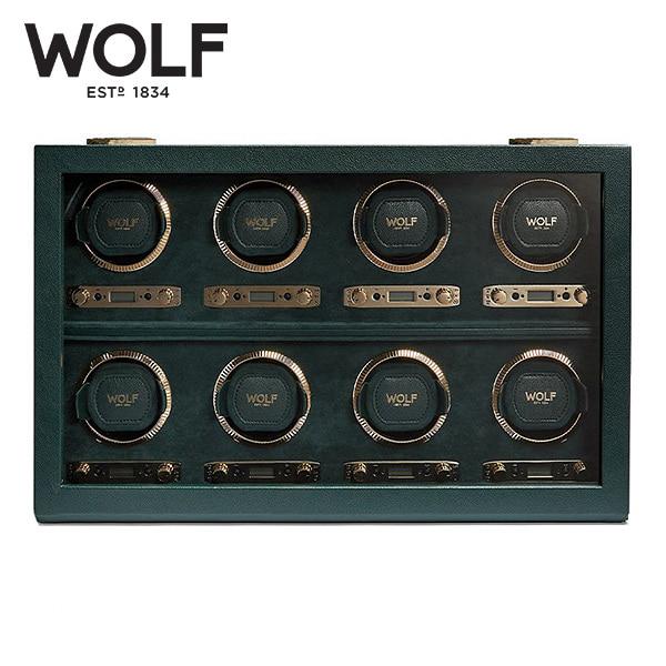 [울프 WOLF] 792541 / 워치와인더 8구 British Racing Green 8pc Watch Winder '해외오더 제품' 타임메카