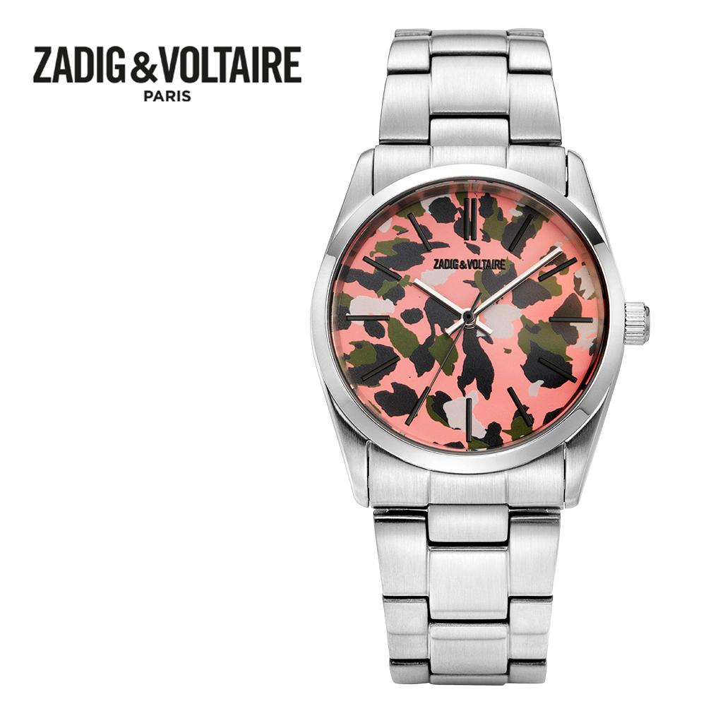 [쟈딕앤볼테르 ZADIG&VOLTAIRE] ZVF812 FUSION COLLECTION 퓨전 컬렉션 여성용 메탈시계 36mm 타임메카