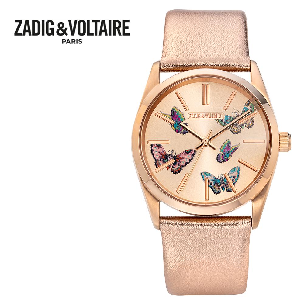 [쟈딕앤볼테르 ZADIG&VOLTAIRE] ZVT025 TIMELESS COLLECTION 타임리스 컬렉션 여성용 메탈시계 36mm 타임메카