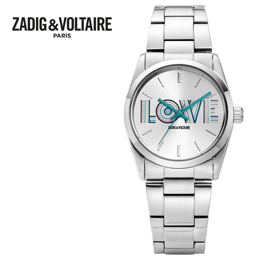 [쟈딕앤볼테르 ZADIG&VOLTAIRE] ZVT207 TIMELESS COLLECTION 타임리스 컬렉션 여성용 메탈시계 33mm 타임메카