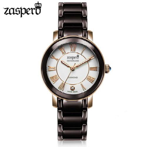 [자스페로 ZASPERO] CG501-77 함부르크 다이아몬드 여성 메탈 시계 28mm [자스페로코리아 정품]