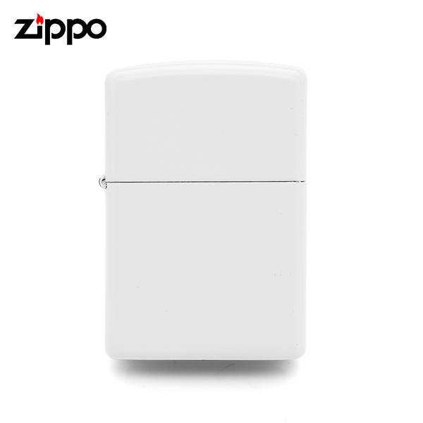 ☆-) [지포 ZIPPO] ZP214 / 레귤러 화이트 매트 Regular White Matte