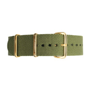 [에테르노시계 AETERNO] 35 BAND MILITARY GREEN (GOLD)