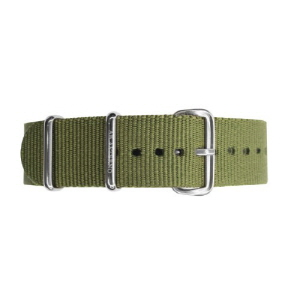 [에테르노시계 AETERNO] 35 BAND MILITARY GREEN (SILVER)
