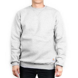 [칼하트 CARHARTT] K124 헤더그레이 칼하트 미드웨이트 스위트셔츠 맨투맨