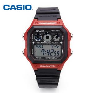[카시오시계  CASIO] AE-1300WH-4A/AE-1300WH-4AVDF 군인시계,스포츠시계