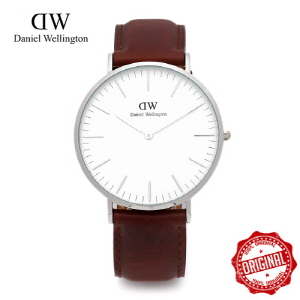 (설 세일) [다니엘 웰링턴시계 DANIEL WELLINGTON] 0207DW / 40mm CLASSIC ST ANDREWS SILVER