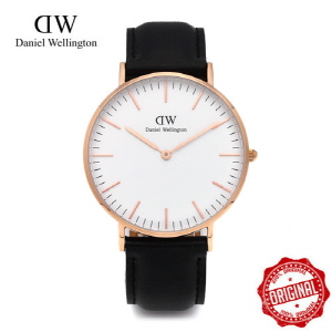 [다니엘 웰링턴시계 DANIEL WELLINGTON] 0508DW / 36mm 클래식 셰필드 레이디 CLASSIC SHEFFIELD LADY ROSE GOLD