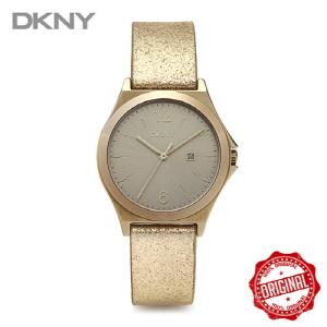 [도나카란뉴욕시계 DKNY] NY2371 여성 골드 가죽시계 34mm