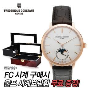 [프레드릭콘스탄트시계] FC-703V3S4 SLIMLINE MOONPHASE 오토매틱 39mm [한국본사정품]