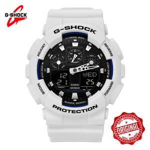 [지샥시계 G-SHOCK] GA-100B-7A 빅페이스 버닝화이트 Big Face