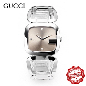 [구찌시계 GUCCI] YA125401 Diamond Accented Sta [여성용] G구찌 32mm x 30mm