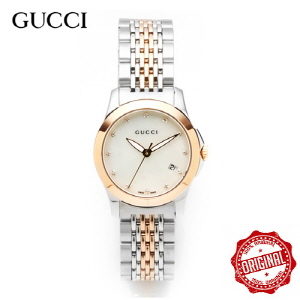 [구찌시계 GUCCI] YA126514 Timeless Diamond Two-tone 27mm