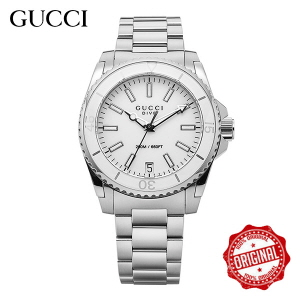 [구찌시계 GUCCI] YA136402 Dive Medium White Dial 32mm