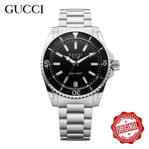 [구찌 GUCCI] YA136403 Dive Black Dial Stainle 32mm