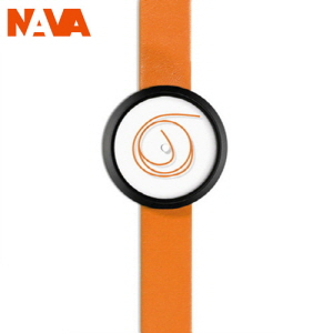 [나바디자인 NAVA DESIGN] O407-ORANGE Unica 우니카 (36mm)