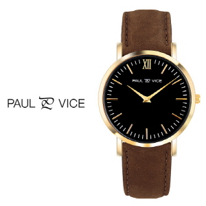 [PAUL VICE 폴바이스] PV04102 HERNING Classic Black 허닝 레이디 블랙