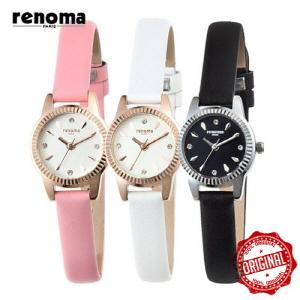 [레노마시계 RENOMA] RE380 가죽 여성시계