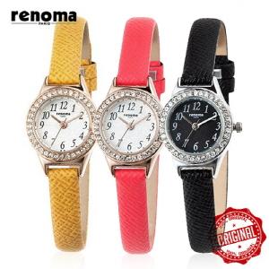 [레노마시계 RENOMA] RE385 가죽 여성시계