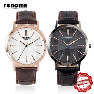 [레노마시계 RENOMA] RE440 가죽 시계