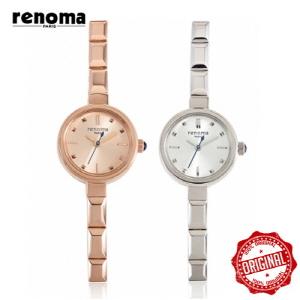 [레노마시계 RENOMA] RE450 메탈 여성시계