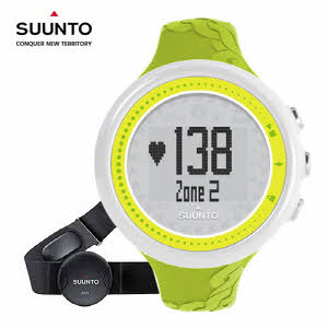 [순토시계 SUUNTO] SS020648000 M2 LIME DIGITAL FITNESS 43.6mm