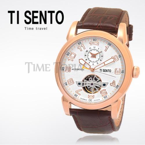 [티센토 TISENTO] TS50031RGW-DUAL 오토매틱 오픈하트 듀얼 Open Heart Automatic dual