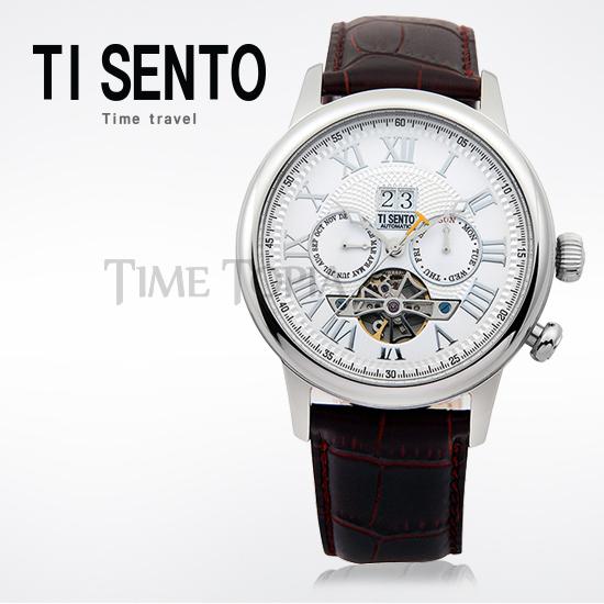 [티센토 TISENTO] TS50041WTW-DATE 오토매틱 오픈하트 데이트 잉여공주 송재림 시계!!